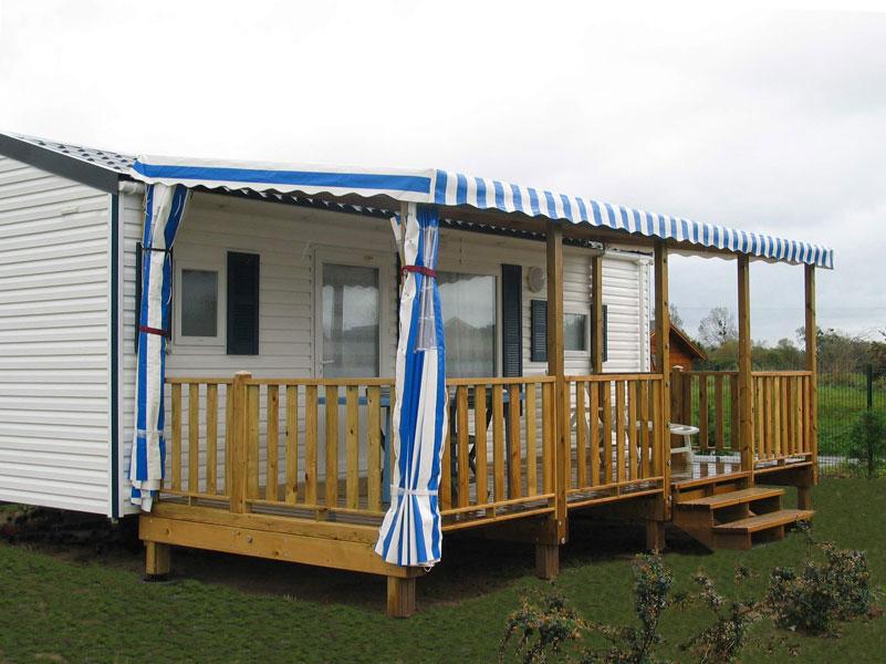 terrasse bois pour mobil home id e int ressante pour la conception de meubles en bois qui inspire. Black Bedroom Furniture Sets. Home Design Ideas