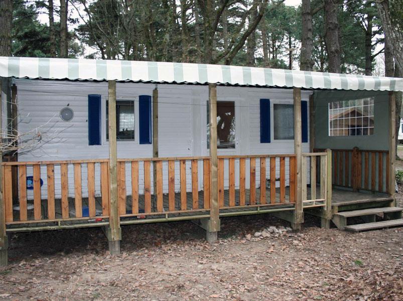B che pour terrasse de mobil home ateria terrasse for Couverture pour terrasse