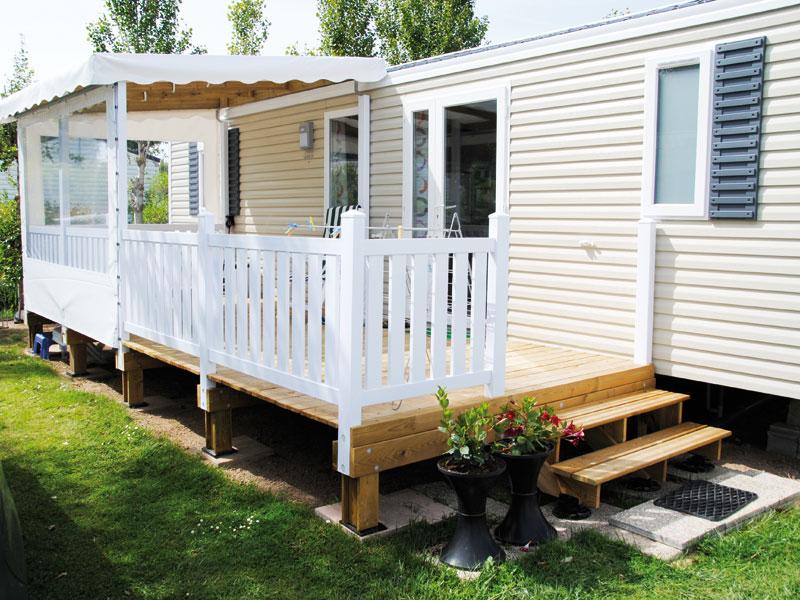 Awesome Couverture Terrasse Mobil Home : La Terrasse Mobil Home Mixte PVC U0026  Bois, Une Exclusivit